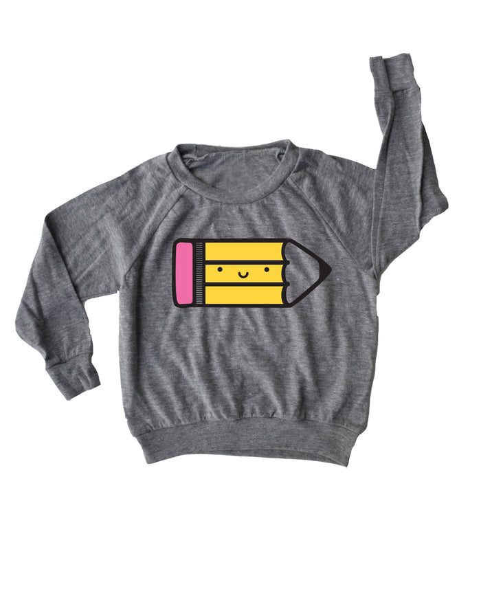 Kawaii Pencil Lightweight Pullover