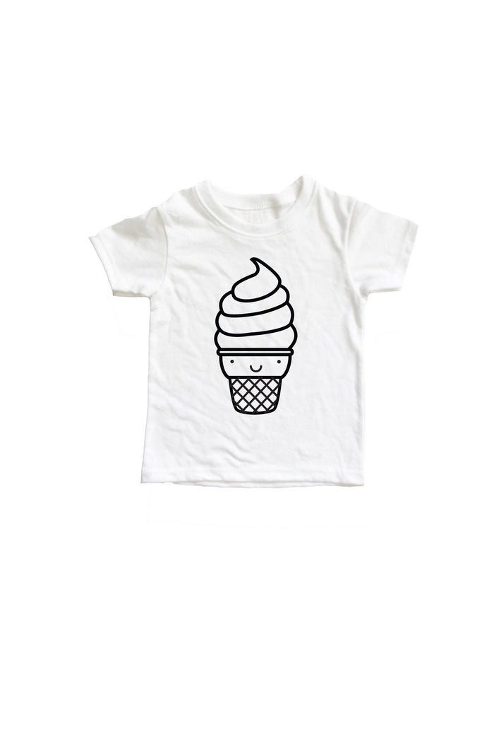 Kawaii Ice Cream Baby + Kids Tee