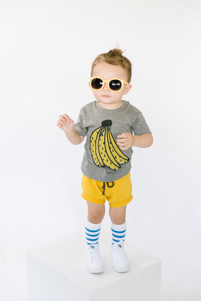 Banana Baby + Kids Tee Shirt