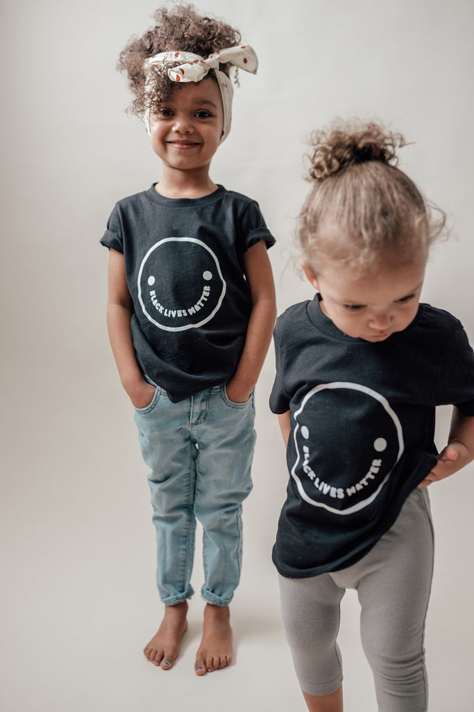Elexis Bronson X Mochi Kids Black Lives Matter Baby + Kid + Adult Tee