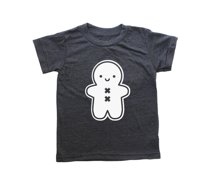 Kawaii Gingerbread Man Baby + Kids T Shirt PREORDER