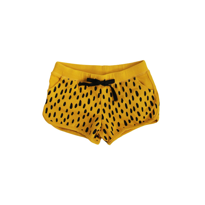 SALE Mustard Rice Track Shorts