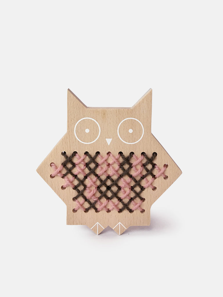 Cross Stitch Friends – Owl by Moon Picnic