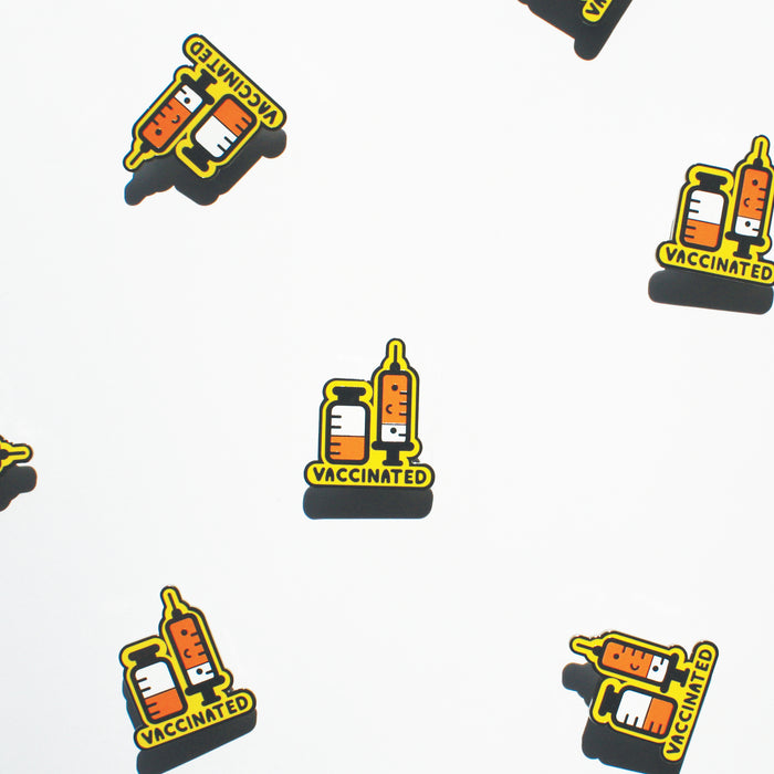 Kawaii Vaccinated Enamel Pin