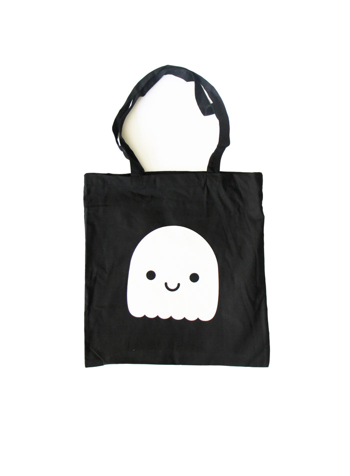 Kawaii Ghost Tote Bag