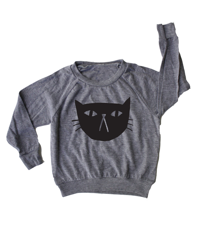 Ike Studio X Mochi Kids Black Cat Lightweight Pullover PREORDER