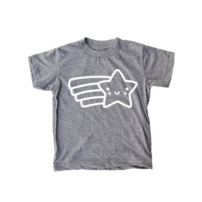 Kawaii Shooting Star Baby + Kids Tee