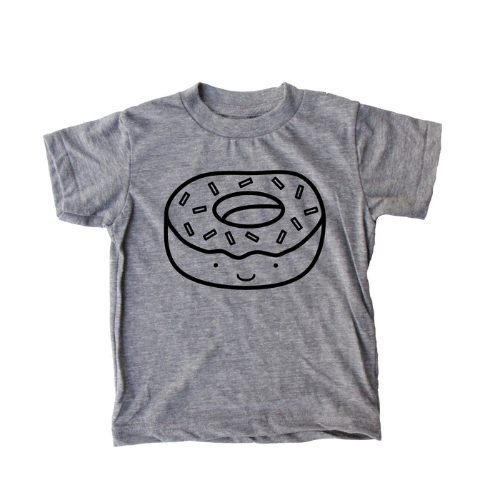 Kawaii Donut Baby + Kids T Shirt