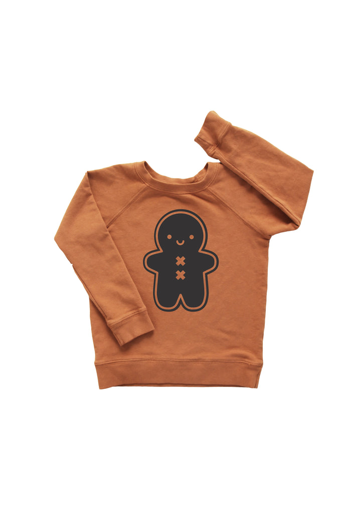 Kawaii Gingerbread Man Sweatshirt