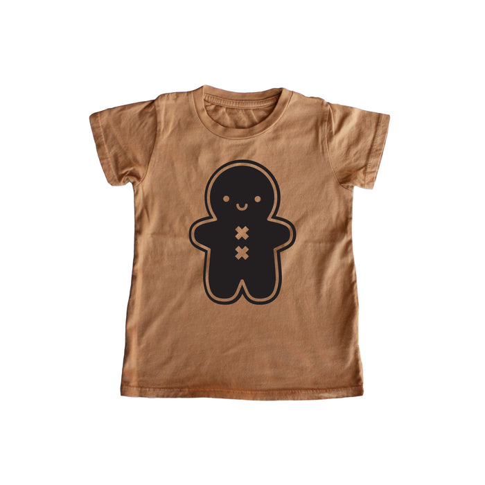 Kawaii Gingerbread Man Baby + Kids Tee PREORDER