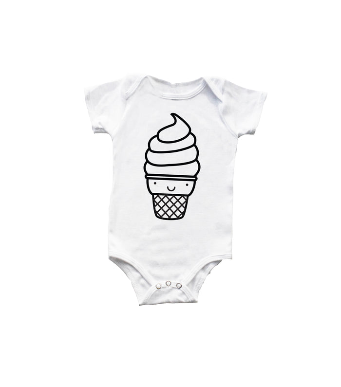 Kawaii Ice Cream Bodysuit