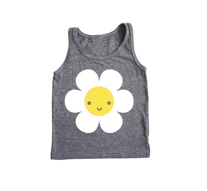 SALE Kawaii Daisy Baby + Kids Tank Top
