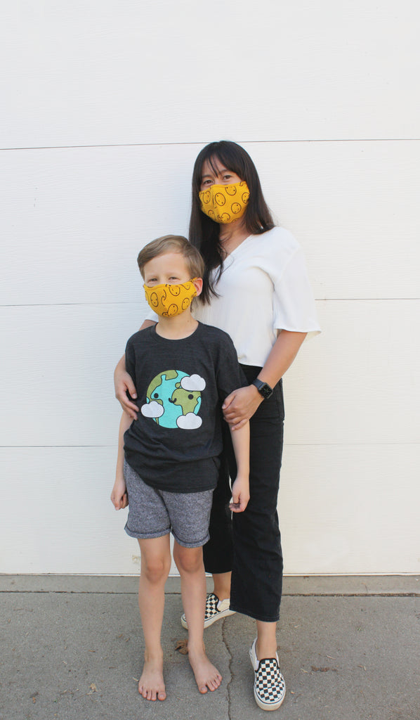 Mustard Happy Mask