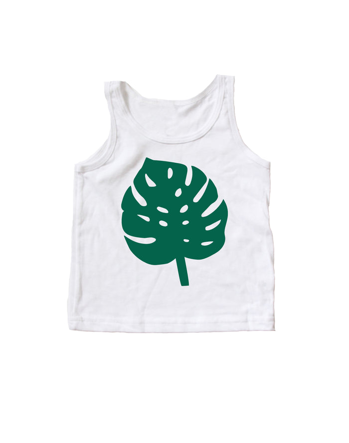 SALE Monstera Baby + Kids Tank Top