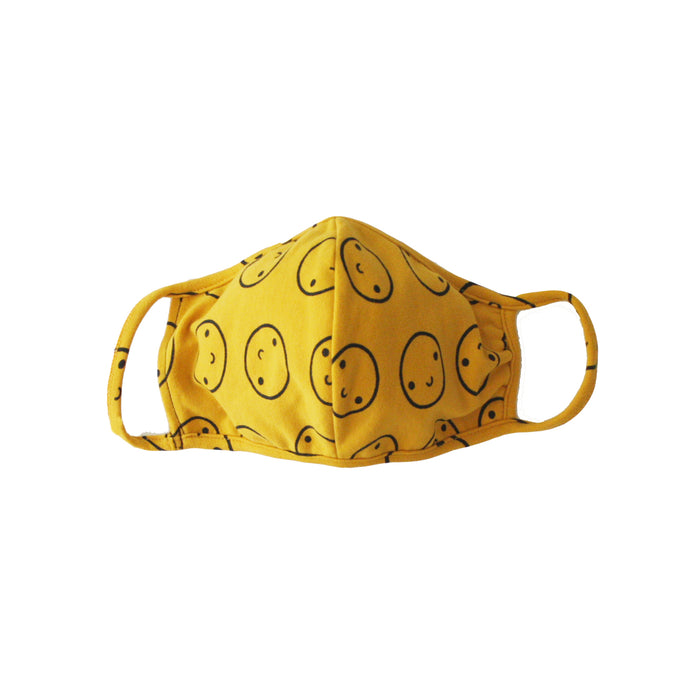 PREORDER - Mustard Happy Mask