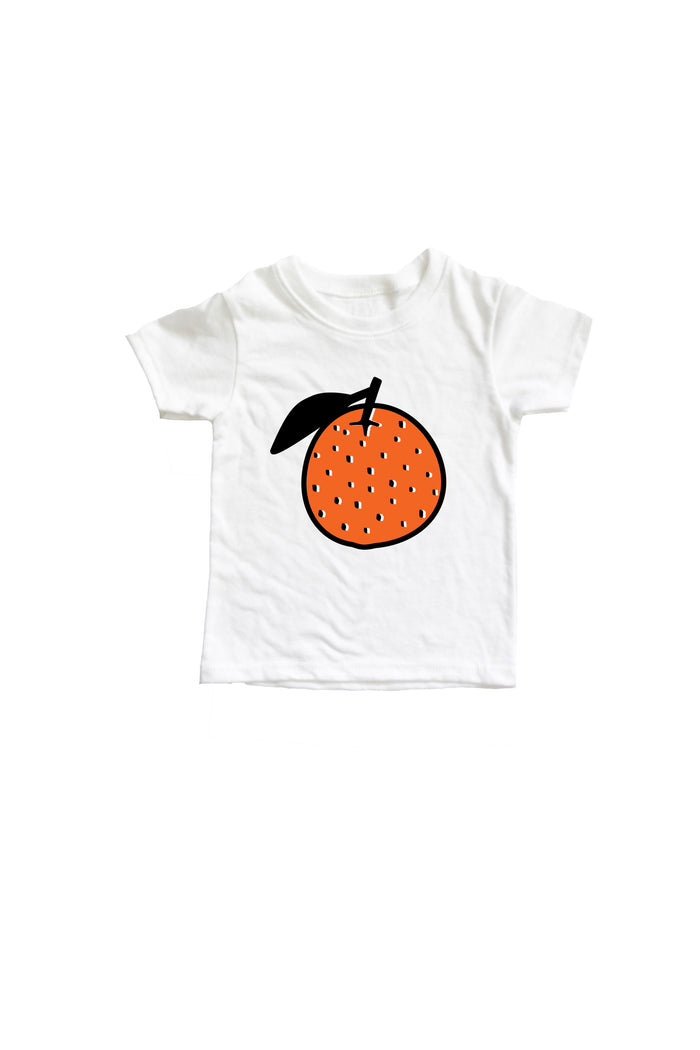 SALE Orange Baby + Kids Tee Shirt