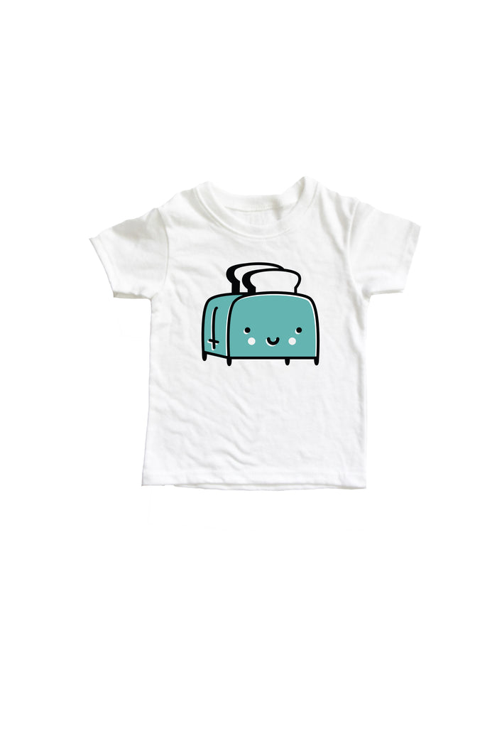 Toaster Baby + Kids Tee Shirt