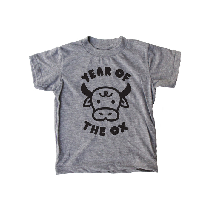 SALE Year of the Ox  Baby + Kids + Adult Tee
