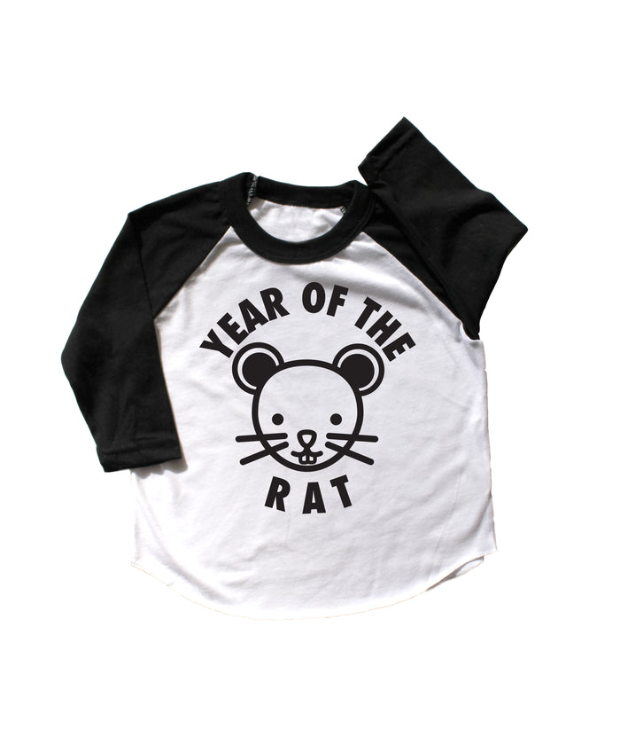 Year of the Rat Baseball Tee