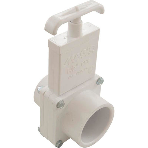 "Magic Plastics Gate Valve [3-Piece] [1-1/2"" Slip x 1-1/2"" Spigot] (0112-15)"