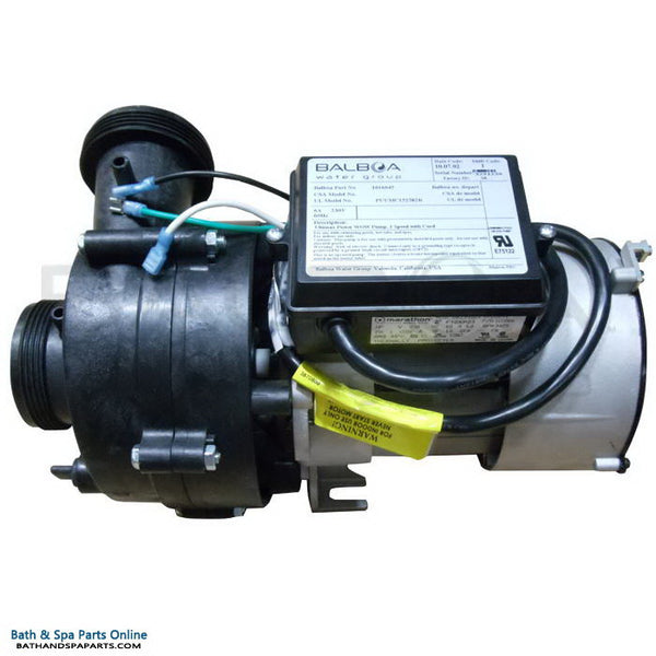 Balboa Vico Ultimax (Niagara) 1.5 HP Spa Pump [GE] [1-Speed] [230V] [6.0 Amps] [15 Frame] [HV] (1016045)