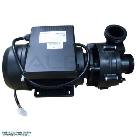 Balboa Vico Ultimax (Niagara) 3.0 HP Spa Pump [SI] [2-Speed] [230V] [11.5/2.5 Amps] [90 Frame] [HV] (1023006)