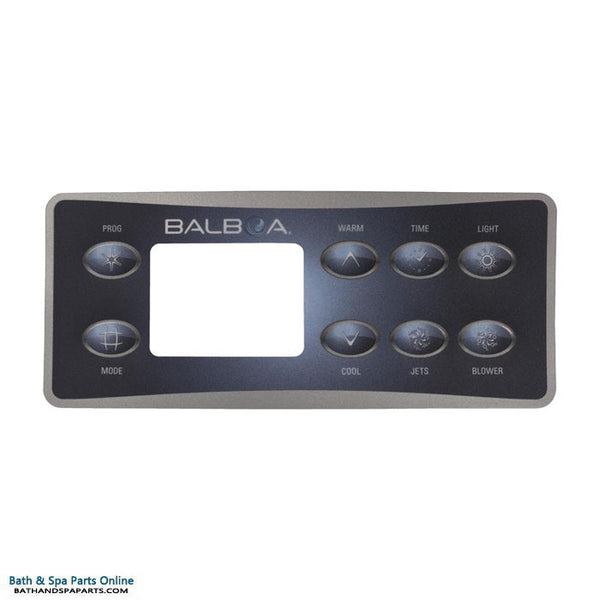 Balboa 8-Button Deluxe Digital Topside Panel Overlay (10299)