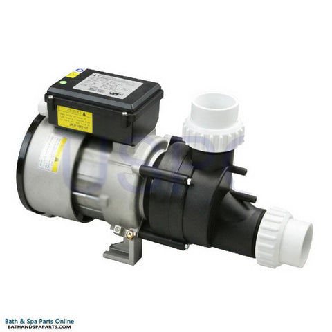 "Balboa 1.5 HP Power WOW Bath Pump  [12 Amps] [Air Switch/Cord [2"" Suction] (1034150)"