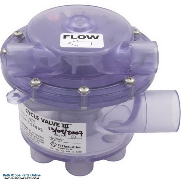 Balboa 6 Port Cycle Valve III (17-6075)
