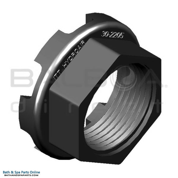 "Balboa 1/2"" Nut [Black] (30-2205BLK)"