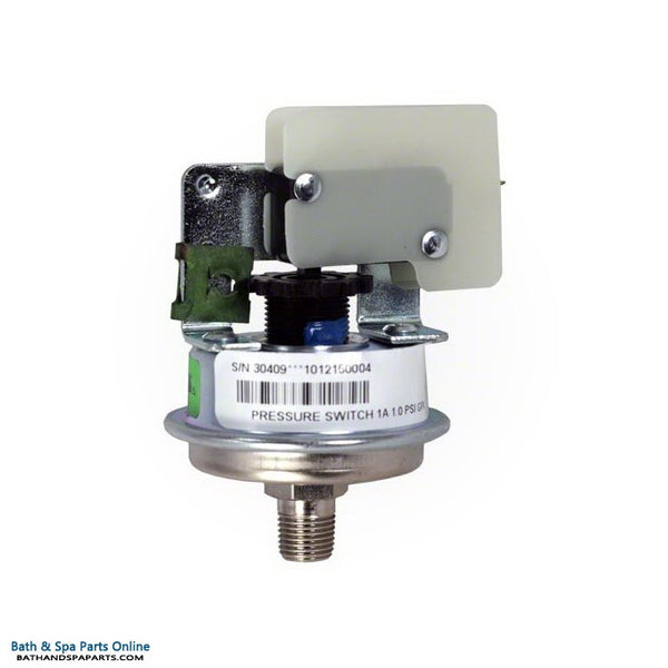 Balboa 3 Amp Spa Heater Pressure Switch [1.0 PSI] (30409)