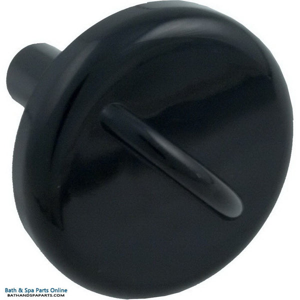 "Balboa 1"" Air Control Stem Cap Assembly [Black] (50-2108BLK)"