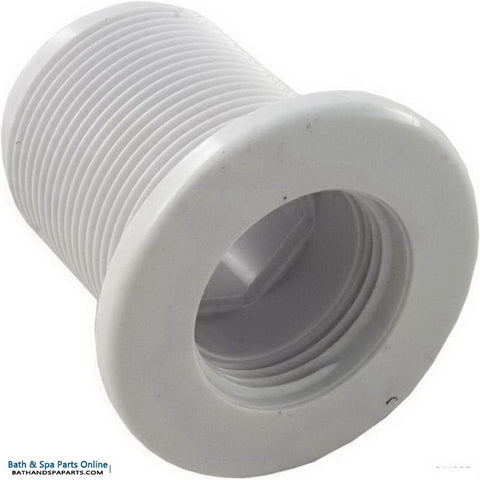"Balboa 2"" Long Threaded Wall Fitting Threaded [Mini] [White] (20348L)"