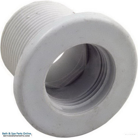 "Balboa 1 5/8"" Long Threaded Wall Fitting [Mini] [White] (20158L)"