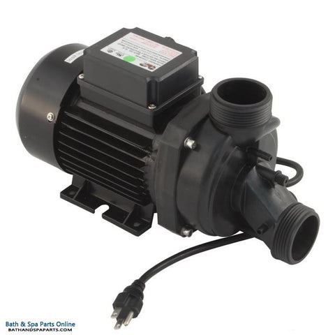 HydraBaths 1.0 HP Replacement Bath Pump [Air Switch/Cord] (610000CD-RS)