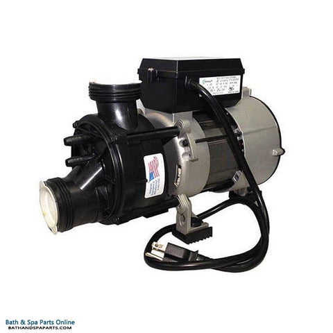 Hydrabaths 1.0 HP HyFlo SD Bath Pump [9.0 Amp] [Air Switch/Cord] (61000SD-RS)