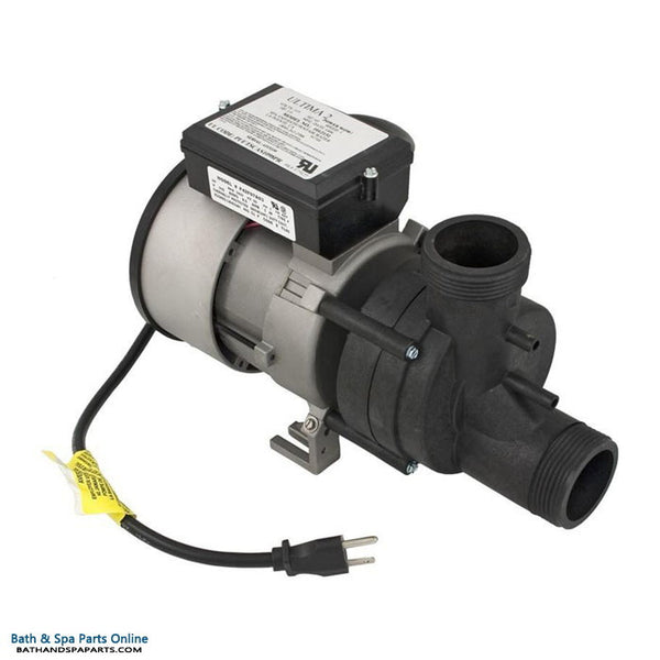 Balboa 1.0 HP WOW Bath Replacement Pump [E-Switch] [115V] [9 Amps] [AB/Air Tubing] (1051057)