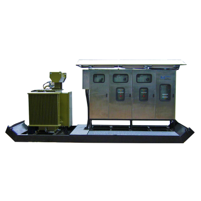 Portable Sub Station - InnoFES Energy - Generators Solar Power UPS Inverters Transformers Switch Gear Electronics