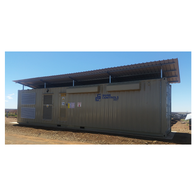 Containerised Substations - InnoFES Energy - Generators Solar Power UPS Inverters Transformers Switch Gear Electronics