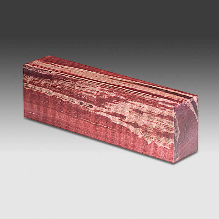 1292 Curly Maple - Dyed Red