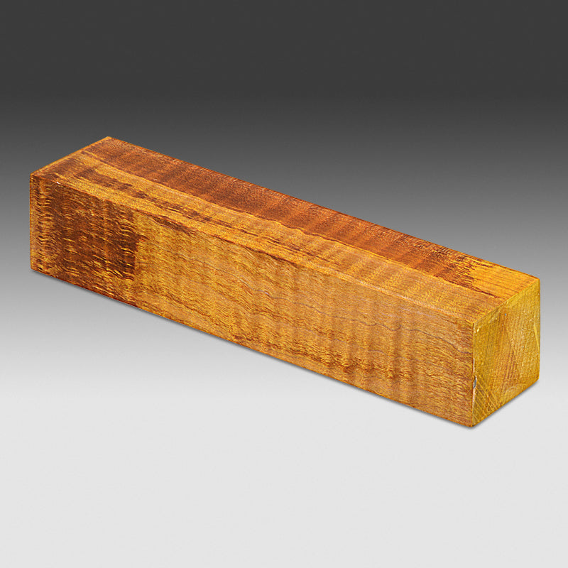 #766 Stabilized Roasted Curly Maple