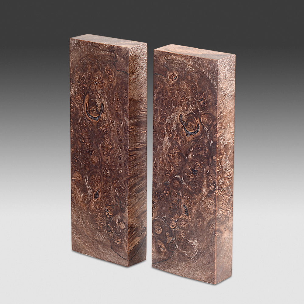 #941 Stabilized Red Maple Burl Set