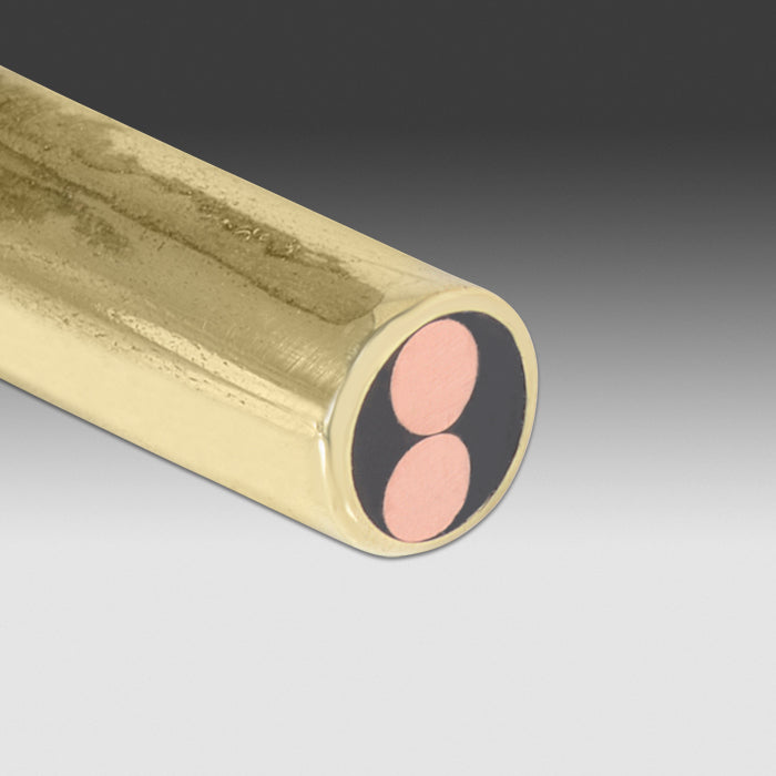 "Brass Mosaic Pins 5/32"" (3.96mm) - 2 L Copper"