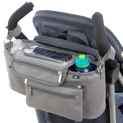 BTR Buggy Organiser Pram Bag for Pushchairs with Purse