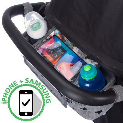 BTR Buggy Organiser Pram Bag For Pushchairs plus Pram Hooks