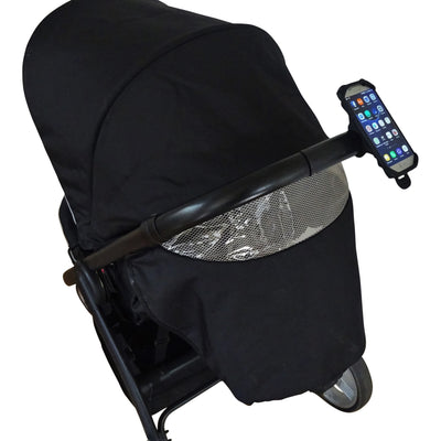 BTR Buggy Organiser Mobile Phone Mount. Fits any Pram, Pushchair