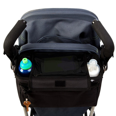 BTR 'Roam' Pram Buggy Organiser - with Phone Pocket & Full Lid