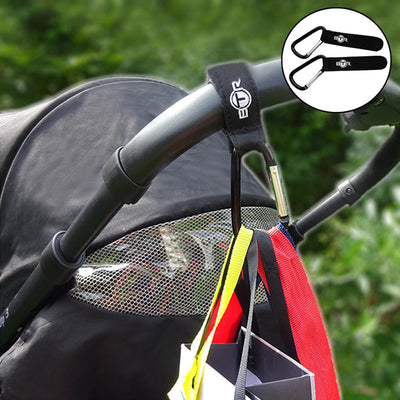 BTR Buggy and Pram Hooks x 2. Extra Storage For Your Pram or Buggy