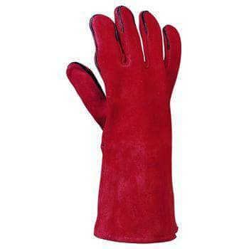 54300 Red fully lined welder's glove