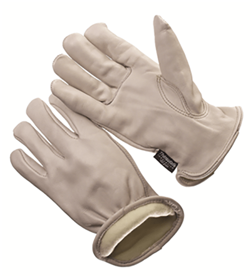 54464 ThinsulateŒÈ lined grain cowhide leather glove